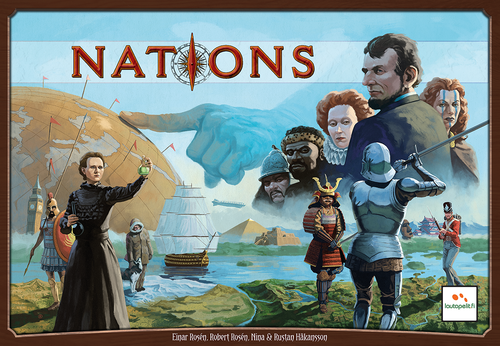 Monopolis Nations Base Tabletop, Board and Card Game