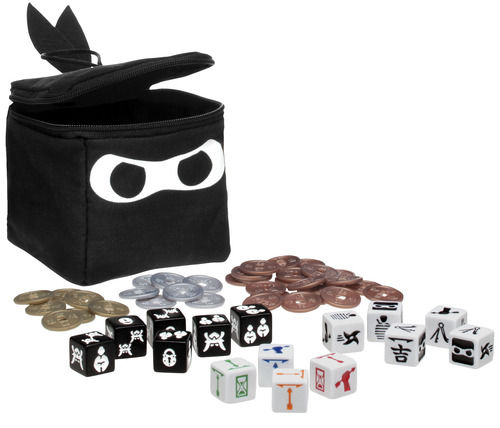 Monopolis Ninja Dice Base Tabletop, Board and Card Game