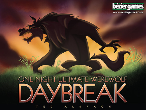 Monopolis One Night Ultimate Werewolf Daybreak Base Tabletop, Board and Card Game