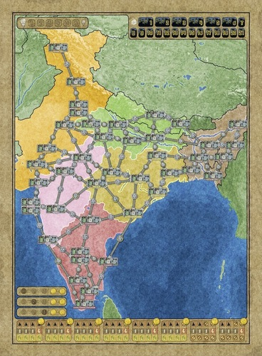 monopolis power grid australia indian subcontinent expansion tabletop board and card game