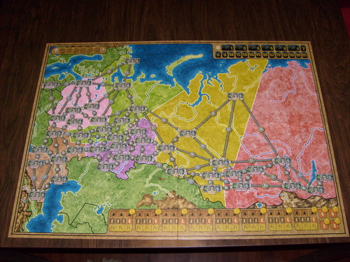Monopolis Power Grid: Russia & Japan Expansion Tabletop, Board and Card Game