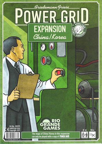 Monopolis Power Grid: China/Korea Expansion Tabletop, Board and Card Game
