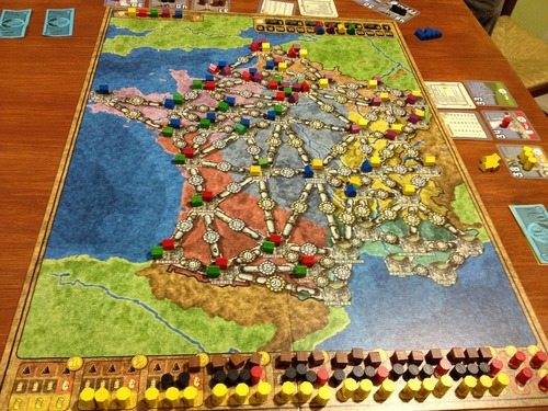 Monopolis Power Grid: France/Italy Expansion Tabletop, Board and Card Game