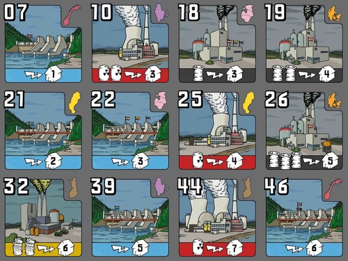 Monopolis Power Grid: Northern Europe/United Kingdom & Ireland Tabletop, Board and Card Game