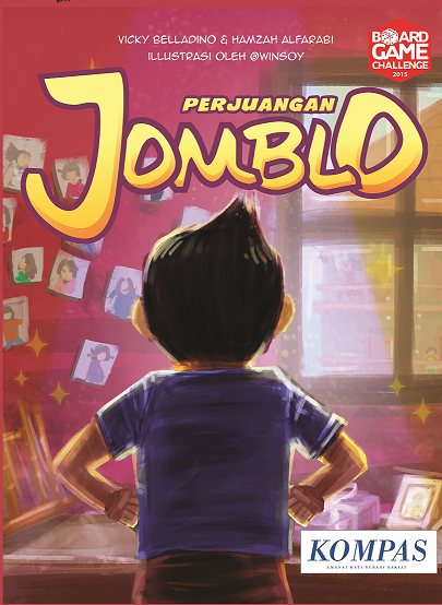 Monopolis Perjuangan Jomblo Base Tabletop, Board and Card Game