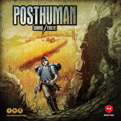 Monopolis Posthuman Base Tabletop, Board and Card Game