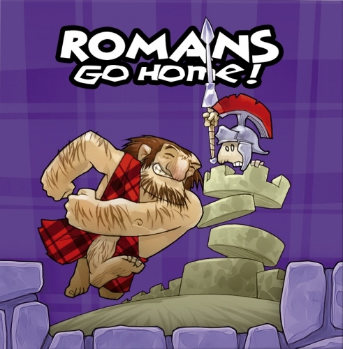 Monopolis Romans Go Home Base Tabletop, Board and Card Game