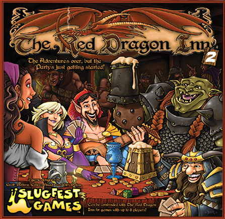 Monopolis The Red Dragon Inn 2 Board Game Base Tabletop, Board and Card Game