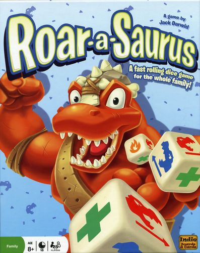 Monopolis Roar Saurus Base Tabletop, Board and Card Game