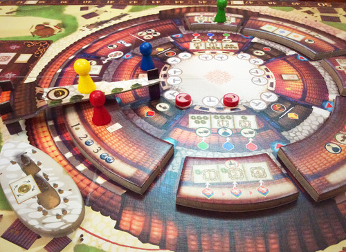Monopolis Round House Base Tabletop, Board and Card Game