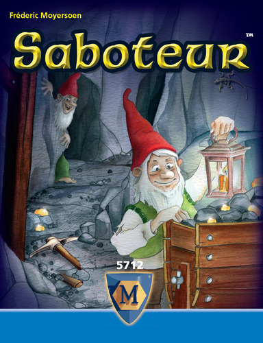 Monopolis Saboteur Base Tabletop, Board and Card Game