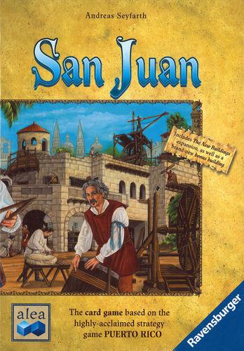 Monopolis San Juan Base Tabletop, Board and Card Game