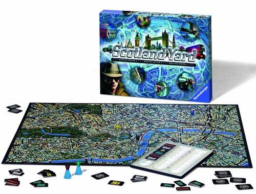 Monopolis Scotland Yard Board Game Base Tabletop, Board and Card Game