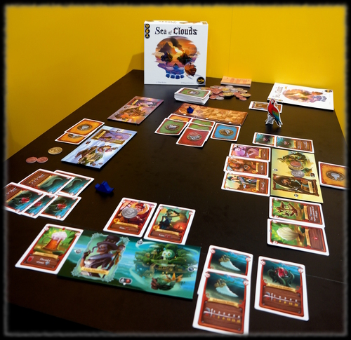 Monopolis Sea of Clouds Board Game Base Tabletop, Board and Card Game