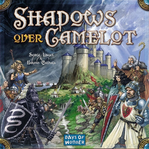 Monopolis Shadows Over Camelot Board Game Base Tabletop, Board and Card Game