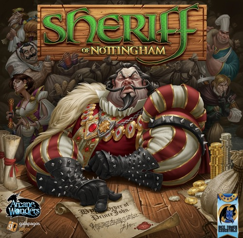 Monopolis Sheriff of Nottingham Base Tabletop, Board and Card Game