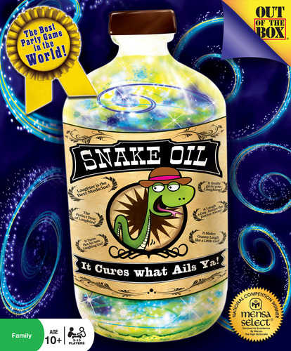 Monopolis Snake Oil Base Tabletop, Board and Card Game