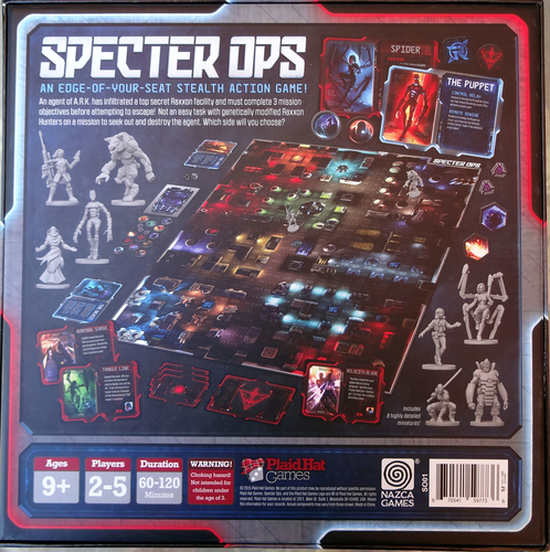 Monopolis Specter Ops Base Tabletop, Board and Card Game