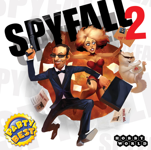 Monopolis Spyfall 2 Base Tabletop, Board and Card Game