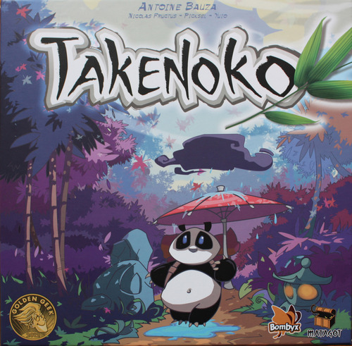 Monopolis Takenoko Base Tabletop, Board and Card Game