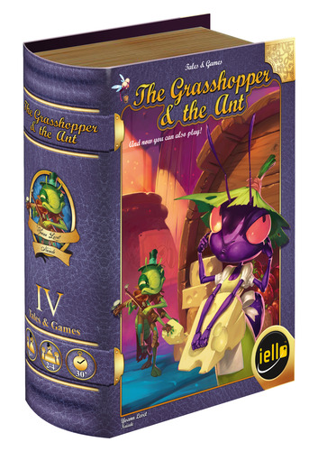 Monopolis Tales & Games: The Grasshopper & the Ant Board Game Base Tabletop, Board and Card Game