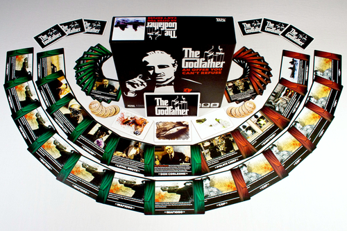 Monopolis The Godfather offer u cant refuse Board Game Base Tabletop, Board and Card Game