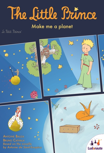 Monopolis The Little Prince Make Me A Planet Base Tabletop, Board and Card Game