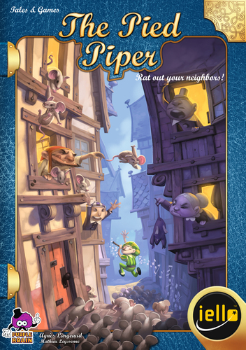 Monopolis The Pied Piper Base Tabletop, Board and Card Game
