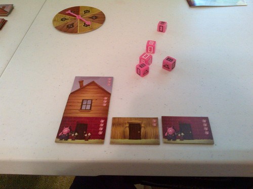 Monopolis The Three Little Pigs Board Game Base Tabletop, Board and Card Game