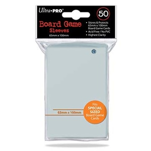Monopolis Ultra Pro 65x100 Card Sleeve Board Game Accessories