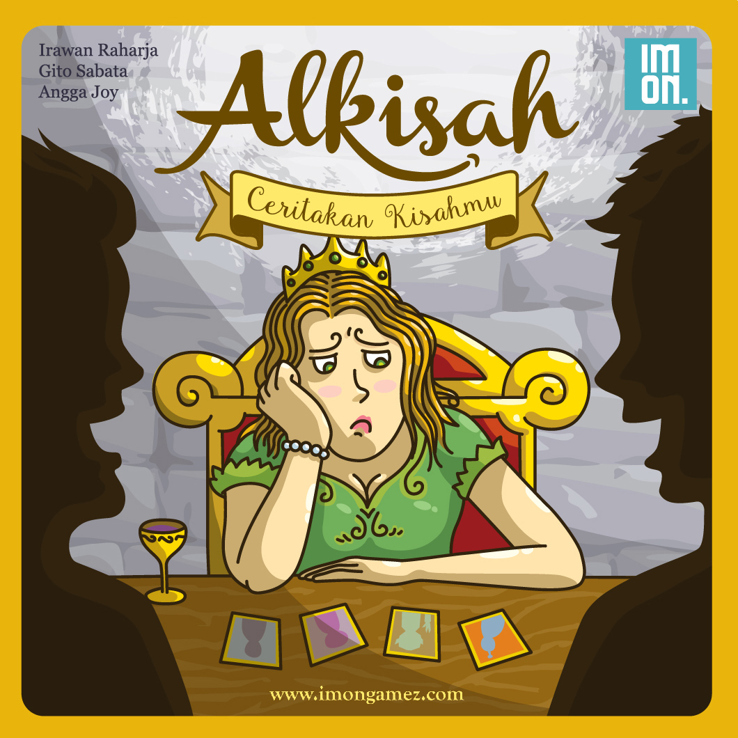 Monopolis Alkisah Base Tabletop, Board and Card Game