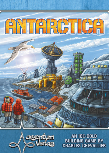 Monopolis Antartica Base Tabletop, Board and Card Game
