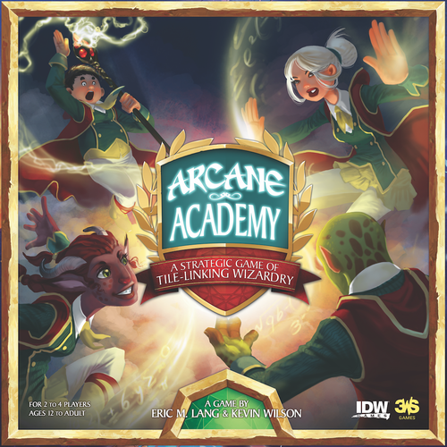 Monopolis Arcane Academy Base Tabletop, Board and Card Game