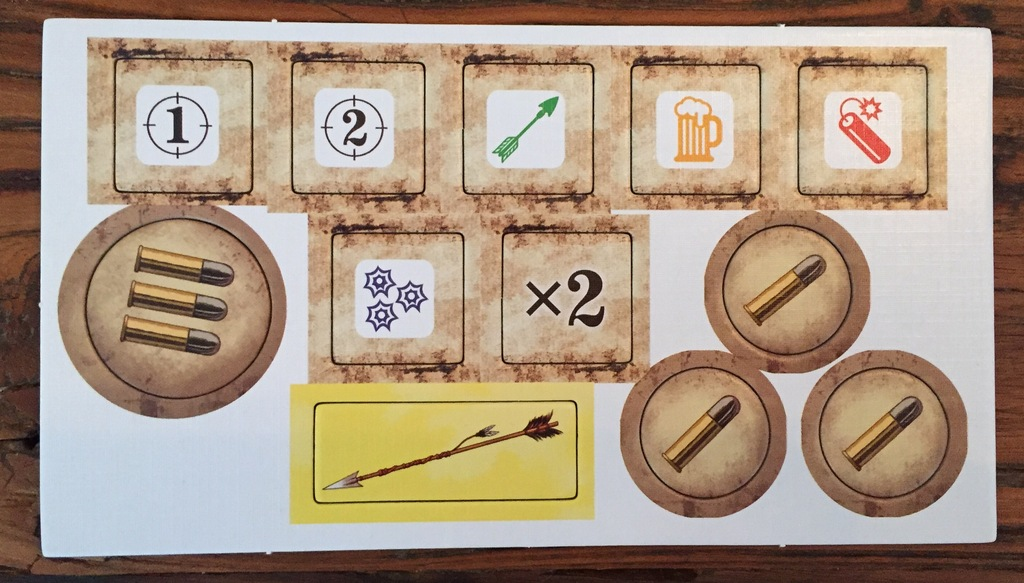 Monopolis Bang the Dice Game: Old Saloon Expansion Tabletop, Board and Card Game