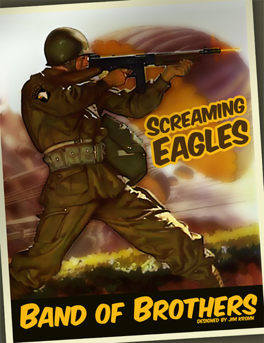 Monopolis Band of Brothers: Screaming Eagles Base Tabletop, Board and Card Game
