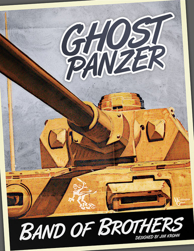Monopolis Band of Brothers: Ghost Panzer Base Tabletop, Board and Card Game