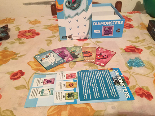 Monopolis Diamonster Base Tabletop, Board and Card Game