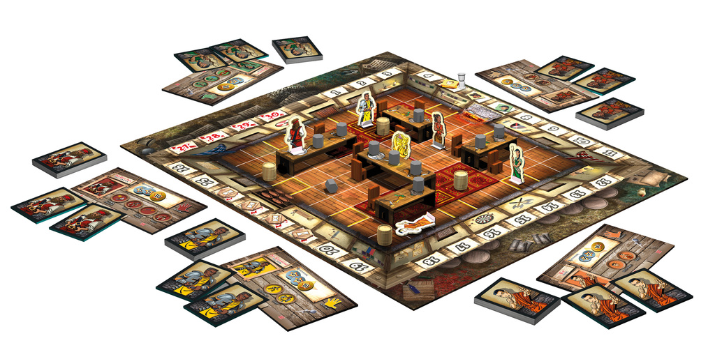 Monopolis The Dragon and Flagon Board Game Base Tabletop, Board and Card Game