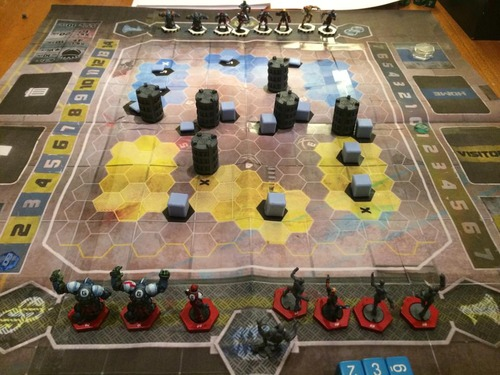 Monopolis DreadBall Extreme The Futuristic Sports Board Game Base Tabletop, Board and Card Game