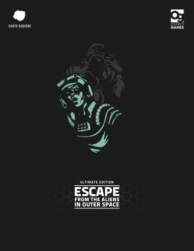 Monopolis Escape from the Aliens in Outer Space Base Tabletop, Board and Card Game