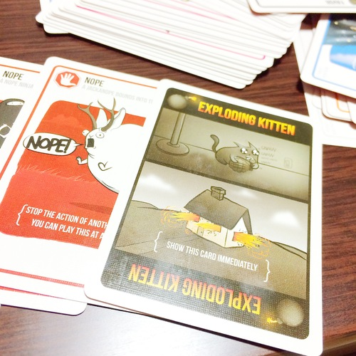 Monopolis Exploding Kittens Normal Base Tabletop, Board and Card Game