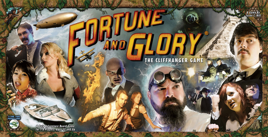Monopolis Fortune and Glory: The Cliffhanger Base Tabletop, Board and Card Game