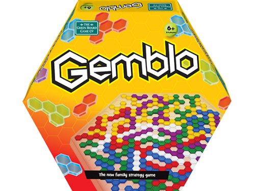 Monopolis Gemblo Base Tabletop, Board and Card Game