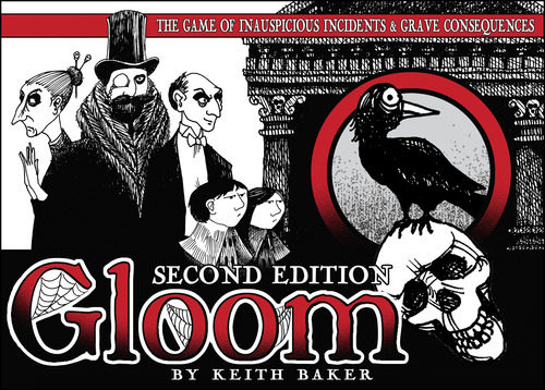 Monopolis Gloom Base Tabletop, Board and Card Game