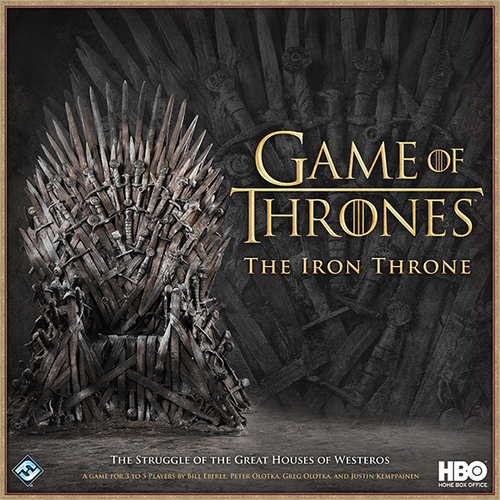 Monopolis Game of Thrones: The Iron Throne Base Tabletop, Board and Card Game