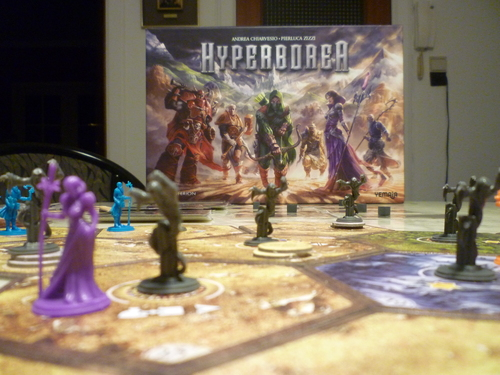 Monopolis Hyperborea Base Tabletop, Board and Card Game