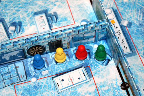 Monopolis Ice Cool Board Game Base Tabletop, Board and Card Game