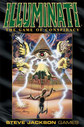Monopolis Illuminati: Deluxe Edition Base Tabletop, Board and Card Game