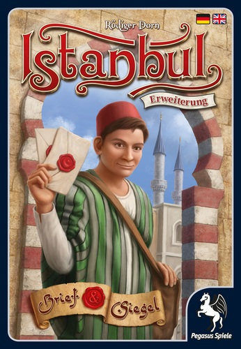 Monopolis Istanbul: Letters & Seals Expansion Tabletop, Board and Card Game