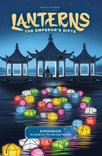 Monopolis Lanterns: The Emperor's Gifts Expansion Tabletop, Board and Card Game